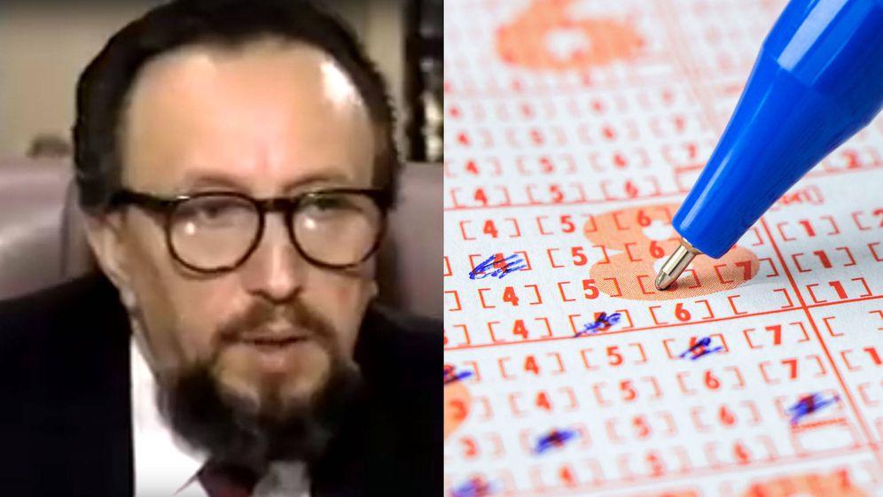 Foto: Stefan Mandel, el ideólogo de todo el plan para ganar la lotería 14 veces (Foto: YouTube)