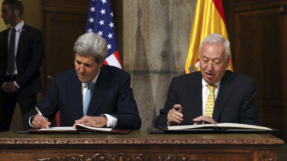 Foto: El secretario de Estado de EEUU, John Kerry (i), y el ministro español de Asuntos Exteriores, José Manuel García-Margallo (d). (EFE)