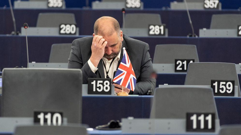 Foto: Sesión plenaria del Parlamento Europeo. (EFE)