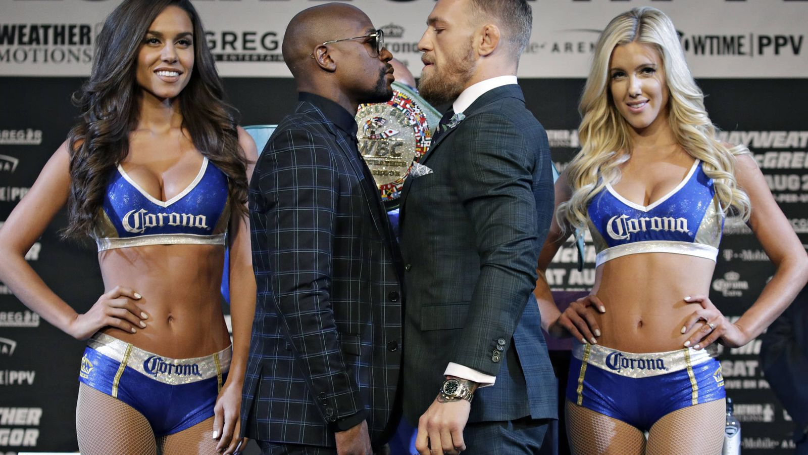 Foto: Una vida de lujo y excentricidades, así es el duelo de estilo que también disputan los boxeadores. (Foto: Gtres)