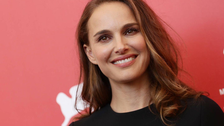Natalie Portman, con su look de maquillaje más habitual y natural. (Getty)
