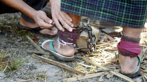 Encerrados y encadenados, así rehabilita Birmania a los adictos a las drogas