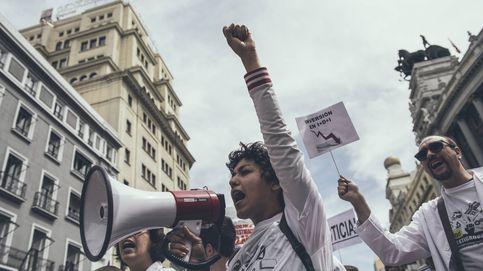 Científicos en lucha: la manifestación contra los recortes, en imágenes