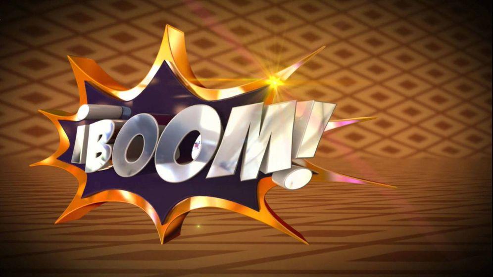 Foto: Logotipo de '¡Boom!', el exitoso concurso de tarde de Antena 3. (Atresmedia)