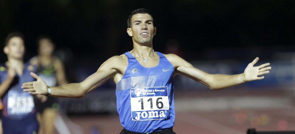 Foto: Adel Mechaal podrá finalmente participar en los Juegos de Río de Janeiro (EFE)