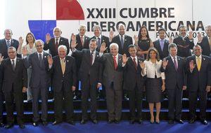 Una foto de Jefes de Estado con pocos Jefes de Estado