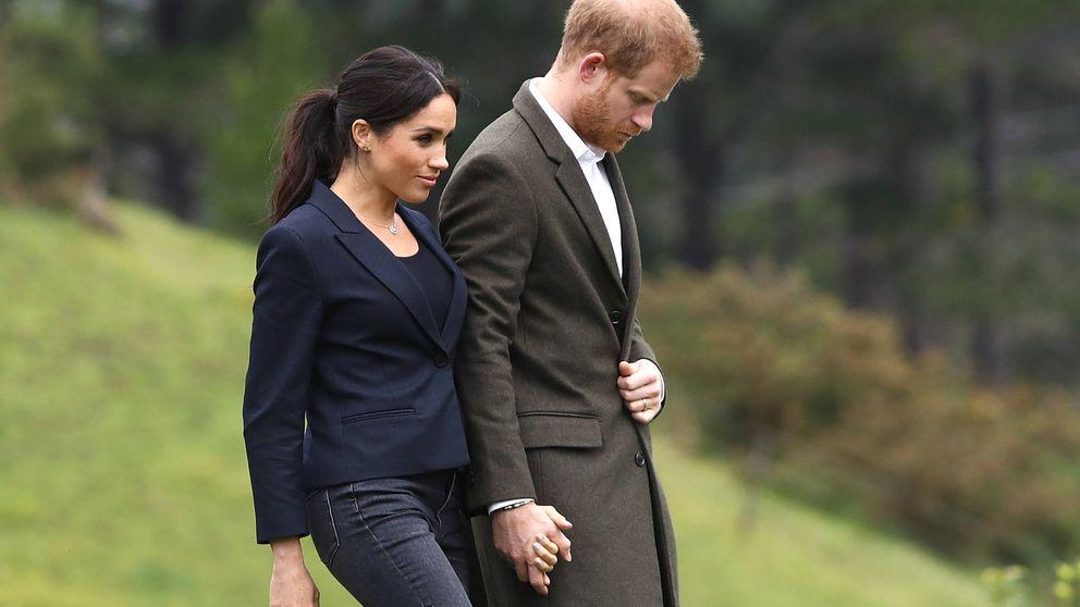 Harry eclipsa con un look a una Meghan Markle que flaquea en Nueva Zelanda
