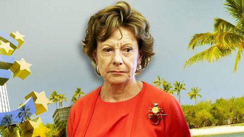 Neelie Kroes, excomisaria europea de Competencia, tuvo una firma 'offshore'