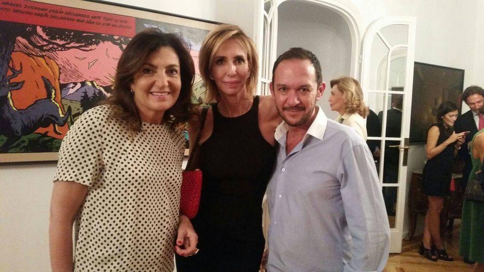 """María Porto, mujer de Álvarez Cascos: """"Cada seis meses me divorcian"""""""