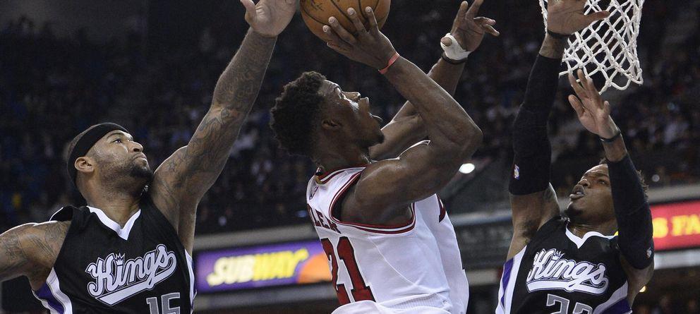 Los Bulls, sin Gasol, se convierten en otra víctima ilustre de los Kings