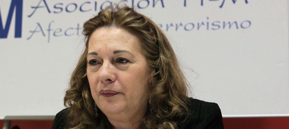Foto: La presidenta de la Asociación 11M Afectados por el Terrorismo, Pilar Manjón. (EFE)