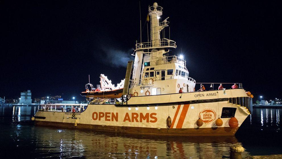 El Open Arms pone rumbo a Algeciras, donde prevé llegar en cinco días
