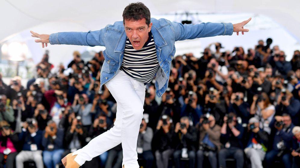 Foto:  Banderas, en Cannes. (Getty)