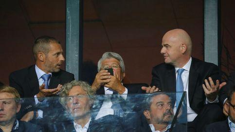La hipocresía de la UEFA y de la FIFA