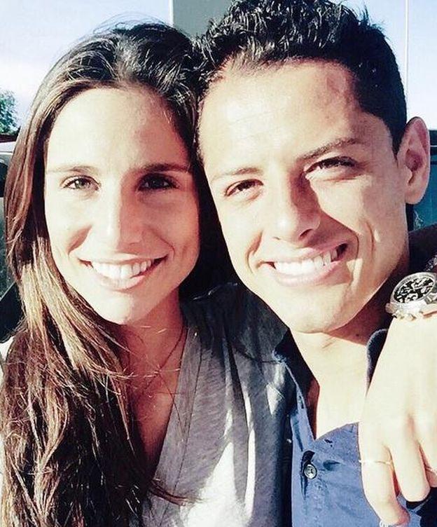 Foto: Lucía Villalón y Chicharito (Instagram)