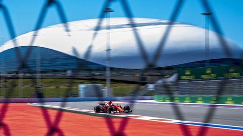 Las mejores imágenes del Gran Premio de Rusia de Fórmula 1
