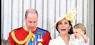 Post de El príncipe Louis debuta en el balcón de Palacio y lo da todo