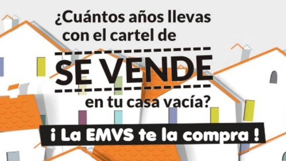Foto: Cartel de la EMVS.