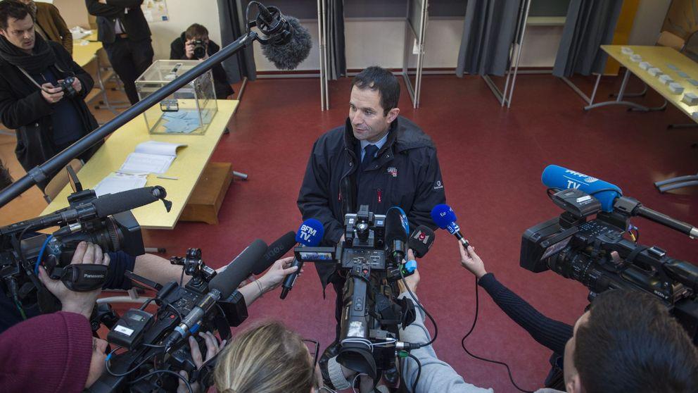 Hamon supera a Valls en unas tristes primarias de los socialistas franceses