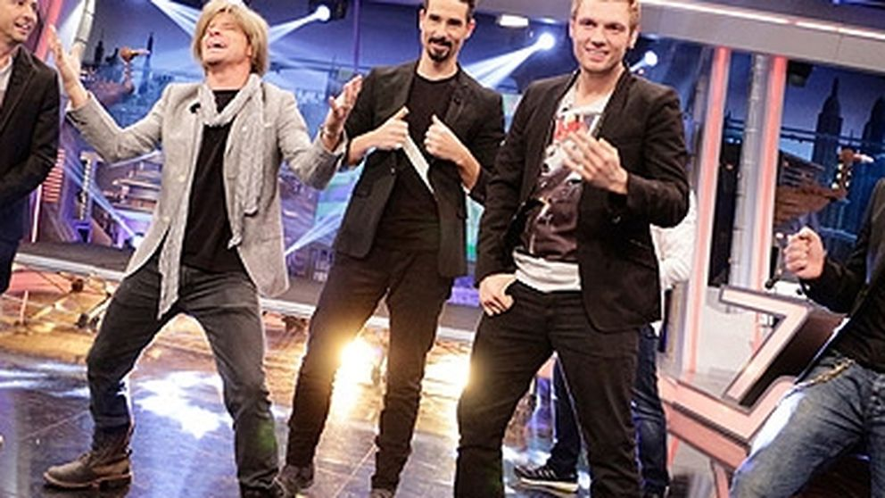 Así bailaron los 'Backstreet Boys' en 'El hormiguero'