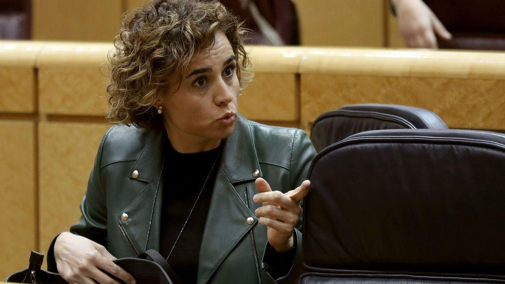 Foto: Dolors Montserrat, ministra de Sanidad (EFE)
