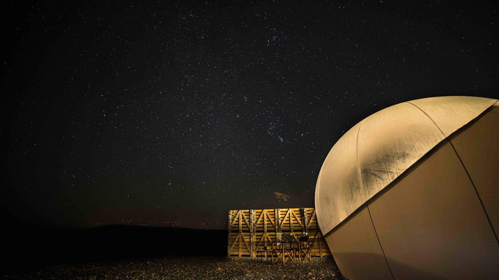 Foto: Para quienes duden: no es la luna, es Tudela, y merece la pena ir. (Cortesía)