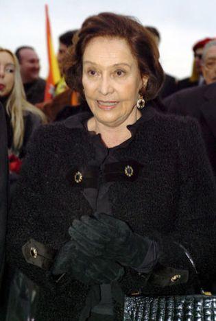 Foto: Los recuerdos de la hija de Franco