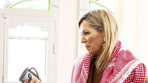 Máxima de Holanda, una ejecutiva en el desierto en su primer día en Jordania