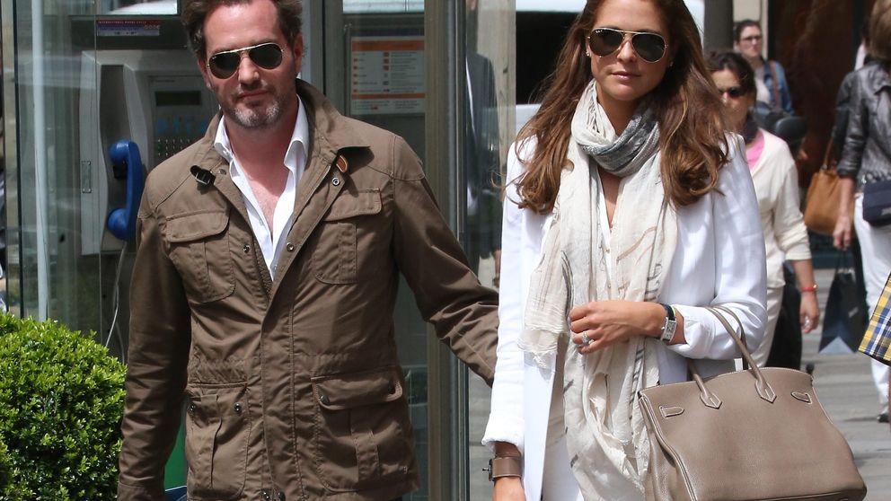 Magdalena de Suecia y Chris O'Neill, retenidos en el aeropuerto