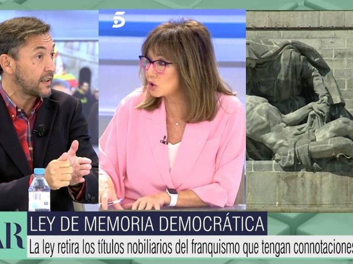 Foto: Javier Ruiz y Ana Rosa. (Telecinco)