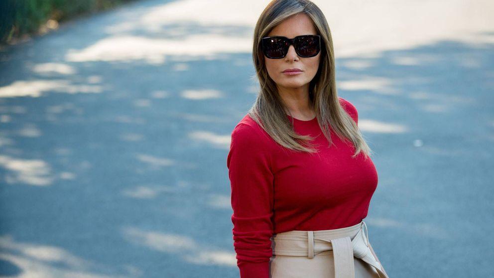 De la Casa Blanca a la Casa de Papel: los  looks europeos de Melania Trump