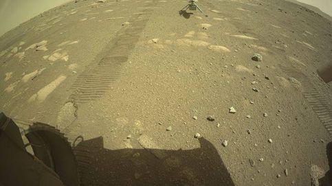 Un helicóptero de la NASA se desprende del Perseverance y se posa en Marte