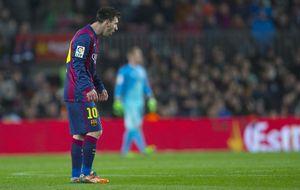 Luis Enrique, sobre las arcadas de Messi: No he visto nada de eso