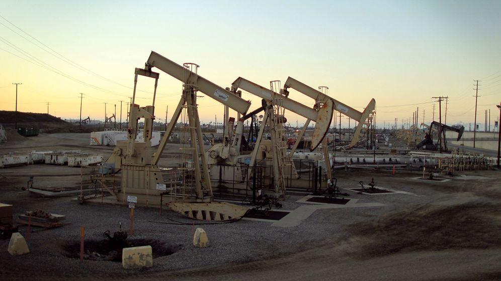 Foto: Pozos de petróleo en EEUU. (Reuters)