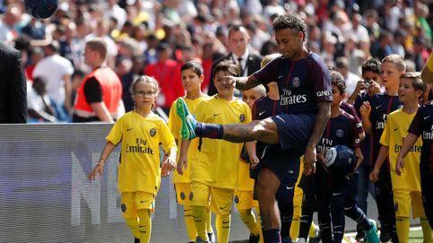 Pasión por Neymar en París
