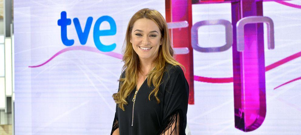 Foto: Toñi moreno, presentadora de 'T con T' en la 1 (tve)
