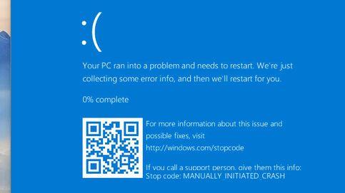 Windows 10 muestra códigos QR en sus 'pantallazos azules', y es una terrible idea