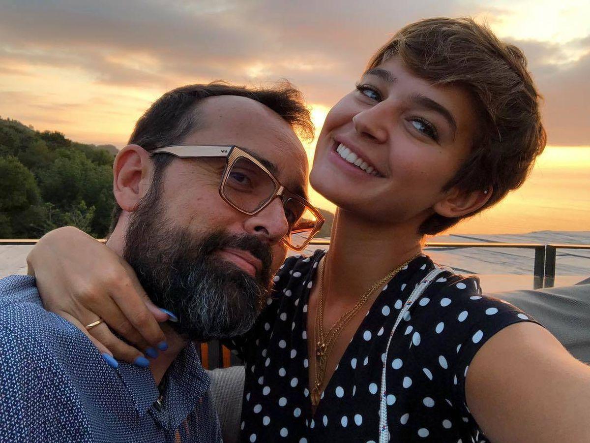 Foto: Laura Escanes y Risto Mejide. (Instagram)