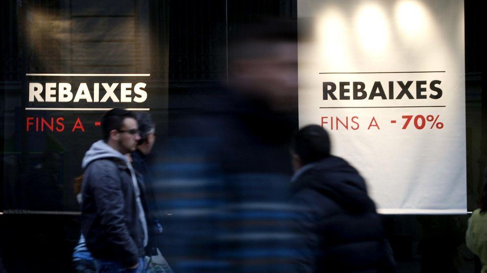 Foto: Rebajas en Cataluña. (EFE)