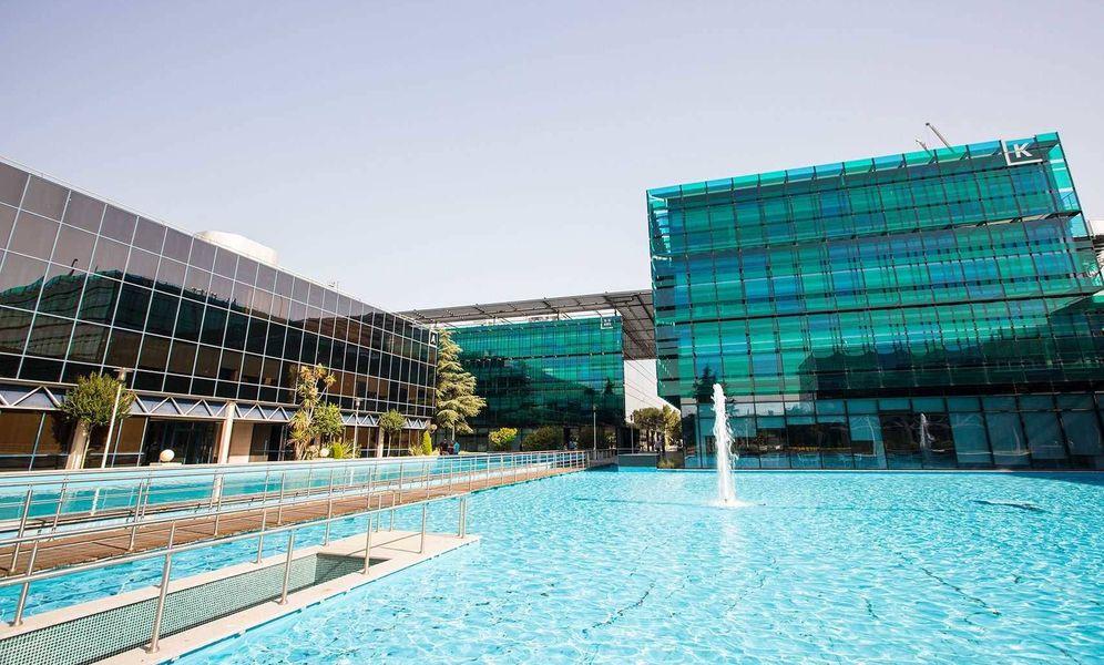 Foto: Imagen del complejo de oficinas que ha puesto en vena Oaktree.