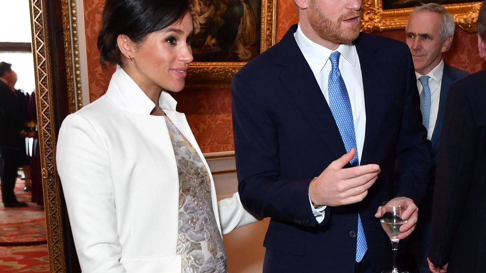 Meghan Markle y Kate Middleton, juntas (pero no revueltas) en Buckingham