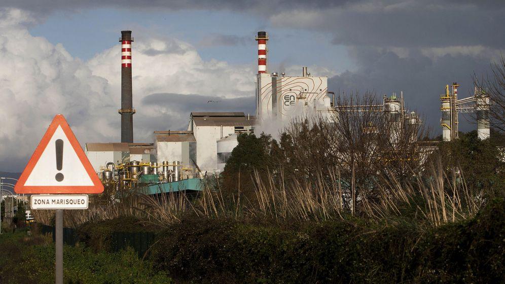 Foto: La fábrica de Ence en Pontevedra. (EFE)