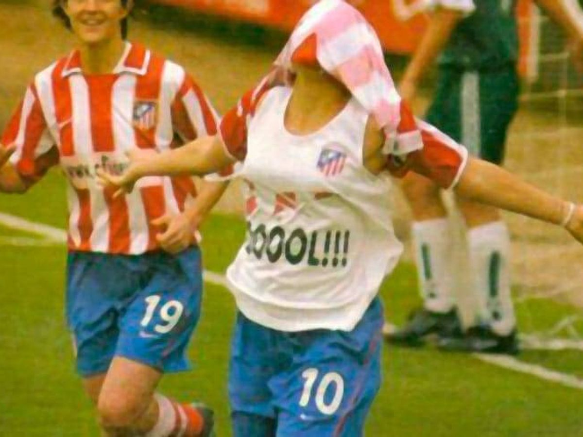 Foto: Ana Rossell, directora deportiva del Real Madrid, celebra un gol con el Atleti