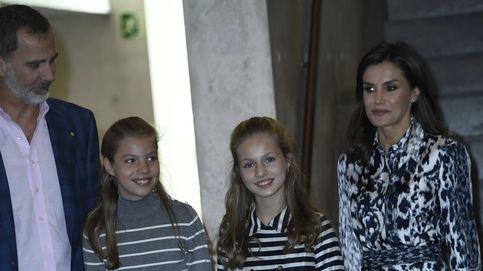 Leonor y Sofía, dos working girls en Barcelona (y de nuevo conjuntadas)