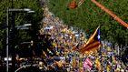 La manifestación no influirá en la hoja de ruta del independentismo