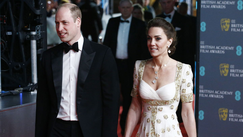 Kate Middleton, en los BAFTA 2020. (Reuters)