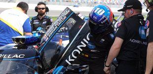 Post de Fernando Alonso ¿'Tormenta de Arena'? Las divertidas aventuras del español en Daytona