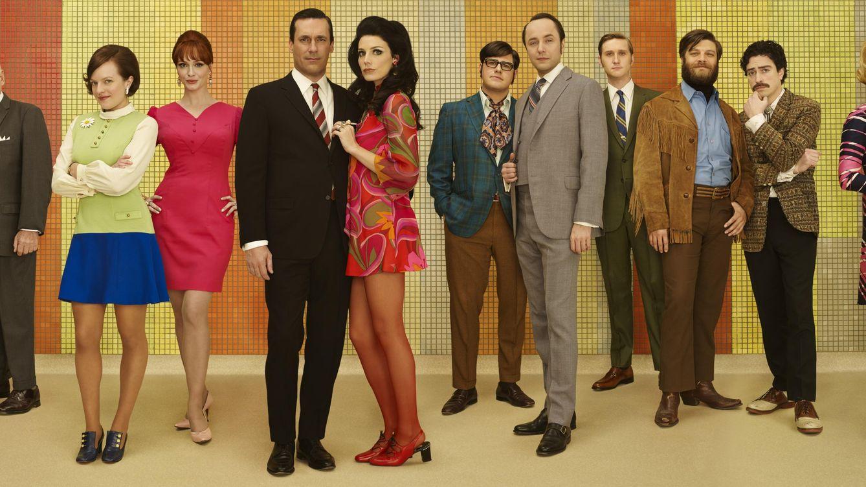 Foto: Imagen promocional de la séptima temporada de 'Mad Men' (AMC)