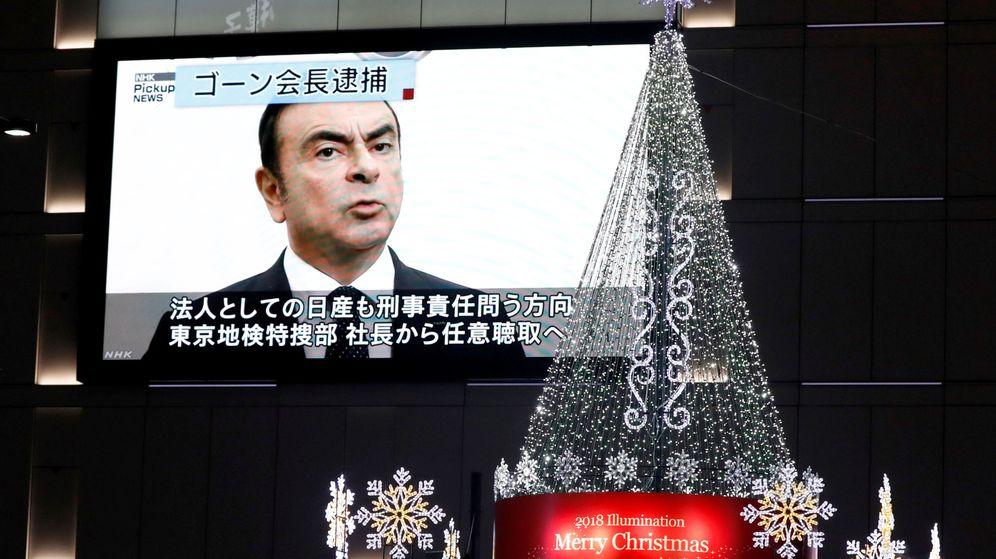 Foto: El presidente cesado de Nissan, Carlos Ghosn (Reuters)