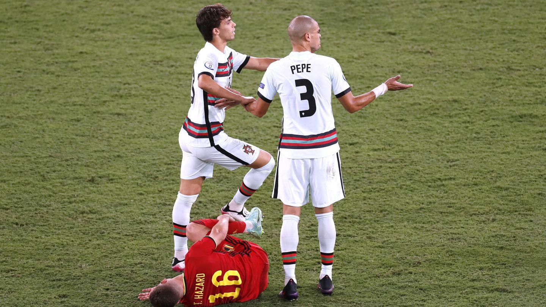 Bélgica supo dónde hacer daño a Portugal. (Reuters)